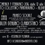ASSEMBLEA GENUINO CLANDESTINO SARDEGNA + PRANZO SOCIALE
