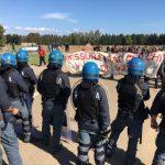 Considerazioni sul campeggio antimilitarista del 6/10 ottobre a San Sperate